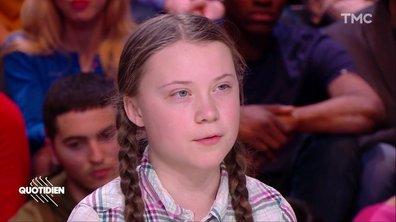 """Greta Thunberg: """"Ce qui m'inquiète, c'est qu'on n'a pas conscience de l'essentiel de la crise climatique"""""""