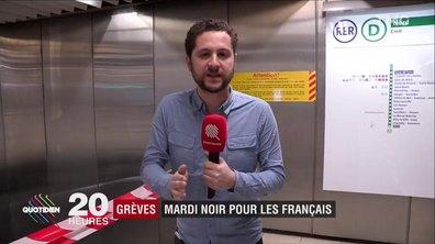 Grèves SNCF : galère, mais pas trop