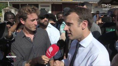 Guyane : Emmanuel Macron accueilli par une manifestation