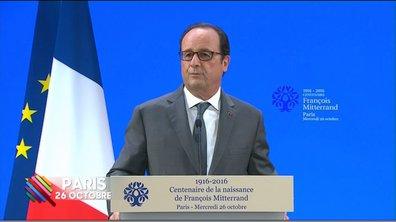 Exclu Web - Quand Hollande rend hommage à François