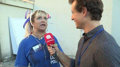 Hugo Clément à la rencontre d'une Sarko Fan