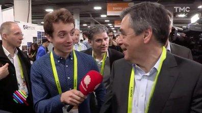 Hugo Clément à Vegas : Fillon, l'internet c'est grâce à lui...