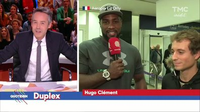 Hugo Clément : Welcome Back Teddy Riner
