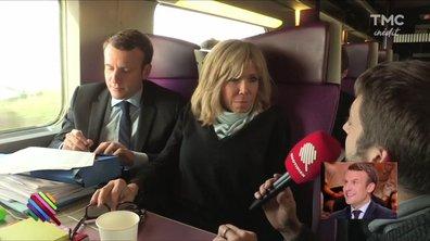 En immersion en campagne avec Emmanuel Macron