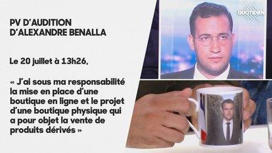 INFO QUOTIDIEN – Alexandre Benalla devait superviser la vente des produits dérivés de l'Élysée