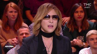 Invité : Yoshiki, LA rockstar culte du Japon débarque en France
