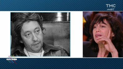 """Charlotte Gainsbourg  :""""Je n'ai pas pu regarder les images de mon père pendant 26 ans"""""""