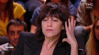 Invitée : Charlotte Gainsbourg très émue quand elle évoque Kate, sa grande sœur disparue