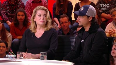 """Invités : Catherine Deneuve et Nekfeu présentent leur film """"Tout nous sépare"""""""