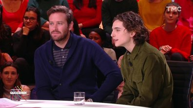 Invités - Timothée Chalamet et Armie Hammer : atouts charme du jour