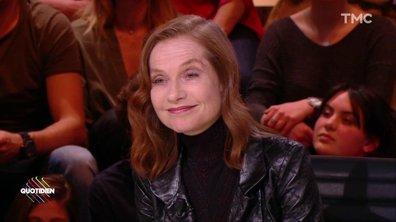 "Isabelle Huppert dans un film de Woody Allen : ""dans un monde idéal"""