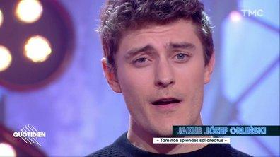 """Jakub Orlinski : """"Tam non splendet sol creatus"""" en live pour Quotidien"""