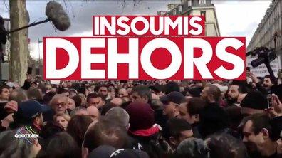 Jean-Luc Mélenchon et Marine Le Pen hués et exfiltrés de la marche blanche en hommage à Mireille Knoll