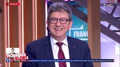 Morning Glory : Jean-Luc Mélenchon serait-il devenu sympa avec les journalistes ?