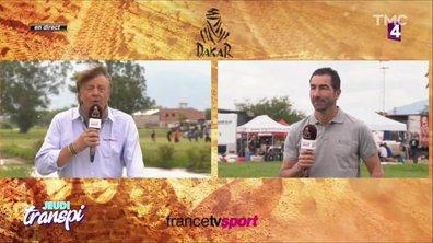 Jeudi Transpi : Chamoulaud en plein forme sur le Dakar