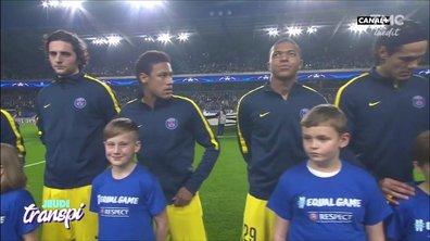 Jeudi transpi : PSG fesse Anderlecht