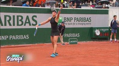 Jeudi Transpi : Roland Garros, des cris, des coups de gueule et un peu d'érotisme sur terre battue