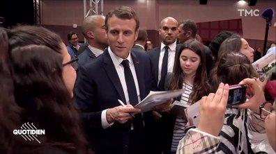 Emmanuel Macron écolo ? La jeunesse n'est pas convaincue...