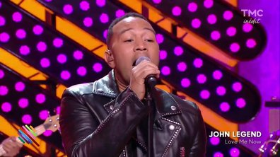 "John legend : ""Love me now"" en live sur Quotidien"