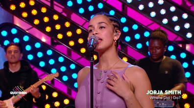 "Jorja Smith : ""Where did I Go "" en live pour Quotidien (EXCLU WEB)"