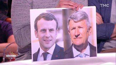 L'étrange bromance d'Emmanuel Macron et Philippe de Villiers