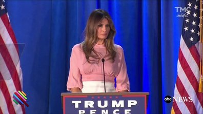 L'hallucinant combat Melania Trump