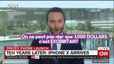 L'iPhone X : le téléphone qui coûte un bras...