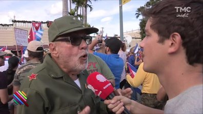 Little Havana célèbre la disparition de Fidel Castro
