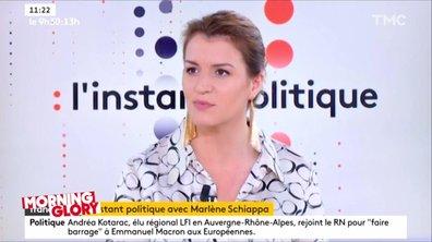 Morning Glory : comment LREM galère à justifier la suppression de Nathalie Loiseau des affiches