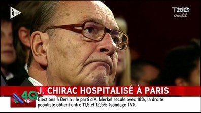 Les 4Q : l'hospitalisation de Jacques Chirac