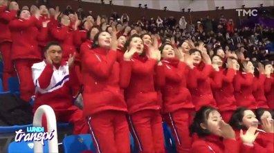 Lundi Transpi : Pyeongchang 2018, Les hooligans nord-coréennes sont de sortie