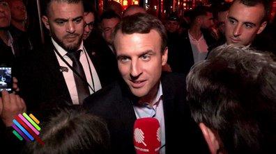 """Macron à la Rotonde n'a pas de leçon à recevoir du """"petit milieu parisien"""""""