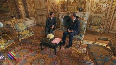 Macron, jour 8 : pour la visite du Premier Ministre italien, exit les dorures !
