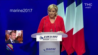 """Macron, un candidat """"redoutable"""" pour Marine Le Pen ?"""
