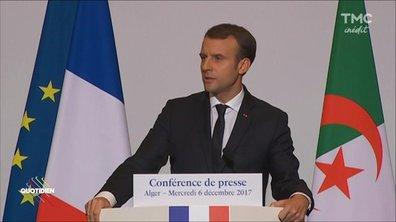 Macron : visite express en Algérie !