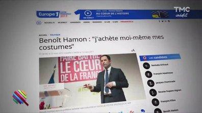 Marc Beaugé décrypte Le costard d'Hamon et les lunettes de Ben Arfa