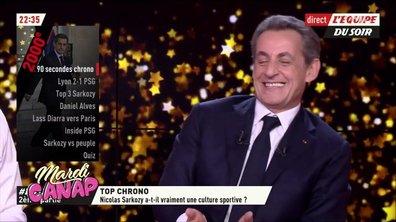 Mardi Canap : Sarkozy, invité de L'Equipe TV !