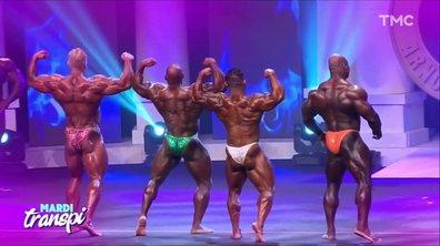 Mardi transpi bodybulding: gros muscles, petits slips
