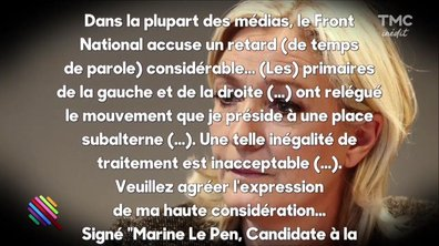 Marine Le Pen, victime d'une injustice ?