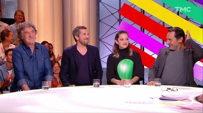"""Invités : Marion Cotillard, Guillaume Canet, Gilles Lellouche et François Cluzet pour """"Nous finirons ensemble"""""""