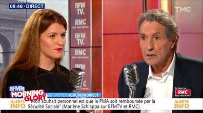 Morning Glory : Marlène Schiappa a ESSAYÉ d'esquiver Jean-Jacques Bourdin