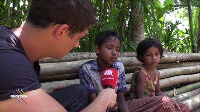 Martin Weill à la rencontre des réfugiés Rohingyas au Bangladesh, Jour 2