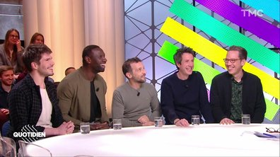 "Invités : Mathieu Kassovitz, Reda Kateb, Omar Sy, François Civil et Antonin Baudry pour ""Le chant du loup"""