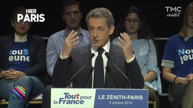 Le meeting low-cost de Nicolas Sarkozy