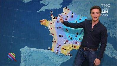 La météo du 13 décembre est présentée par Martin Weill