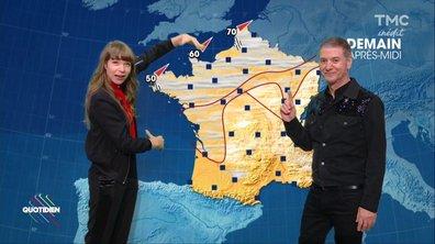 La météo du 21 novembre par Etienne Daho et Calypso Valois