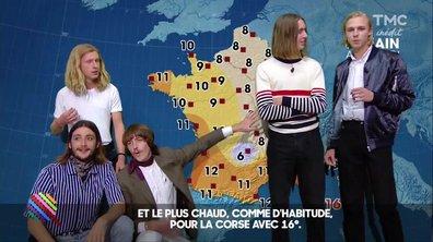 """La météo du 27 janvier By """"Parcels"""""""