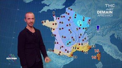 La météo du 29 novembre par Calogero