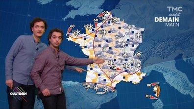 La météo du 30 novembre par Bruno Sanchez et David Marsais