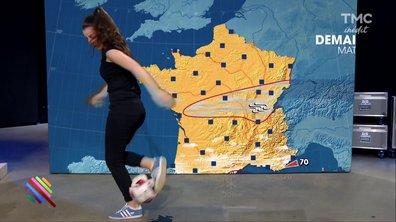 La météo (freestyle) du 19 janvier avec Lisa Freestyle